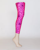 Pink Spider Web Prosthetic Suspension Sleeve Cover