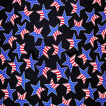 Stars on Black Laminating Sleeve