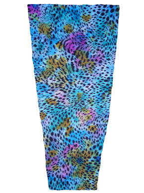 aqua beast animal print prosthetic suspension sleeve cover