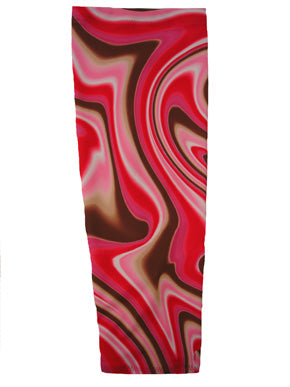 berry swirl prosthetic suspension sleeve cover