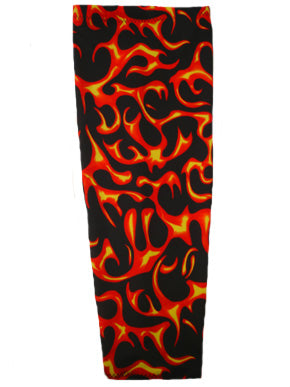 blaze flames prosthetic suspension sleeve cover