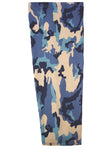 blue camouflage prosthetic suspension sleeve cover