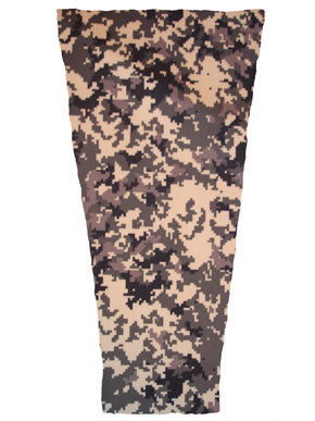 digital mossy camouflage prosthetic suspension sleeve cover