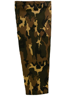 mossy camouflage prosthetic suspension sleeve cover