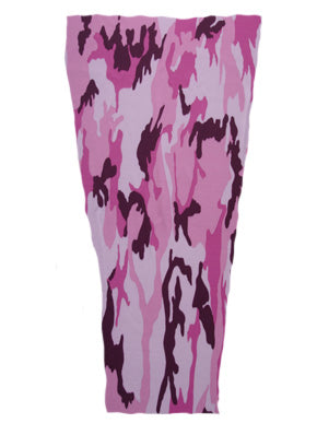 pink camouflage prosthetic suspension sleeve cover