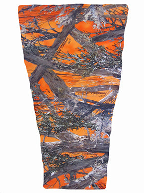 orange timber camouflage prosthetic suspension sleeve cover