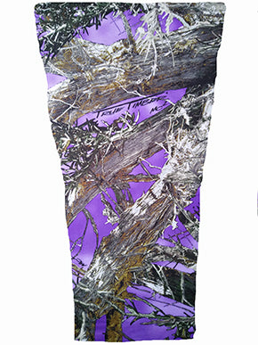 purple timber camouflage prosthetic suspension sleeve cover