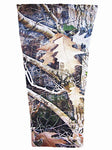 tan timber camouflage prosthetic suspension sleeve cover