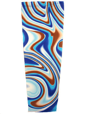 creamy swirl prosthetic suspension sleeve cover