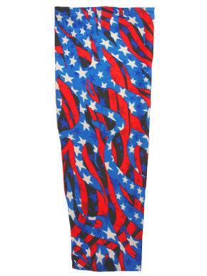 flag wavy stars prosthetic suspension sleeve cover