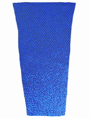 sparkle blue prosthetic suspension sleeve cover
