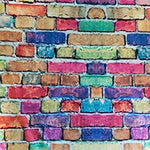 Colorful Bricks Prosthetic Laminating Sleeve