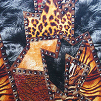 tuff animal print laminating sleeve