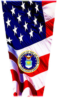 air force flag laminating sleeve