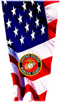 marine flag prosthetic suspension sleeve cover