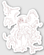 Load image into Gallery viewer, itachi - sticker