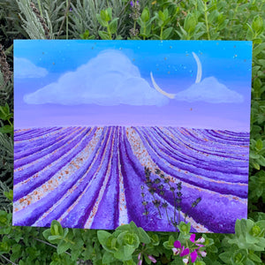 lavender fields - fine art print