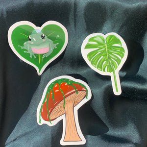 jungle vibes sticker pack