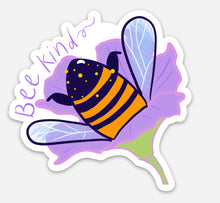 Load image into Gallery viewer, bee kind - sticker
