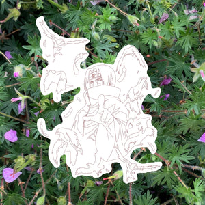 itachi - sticker