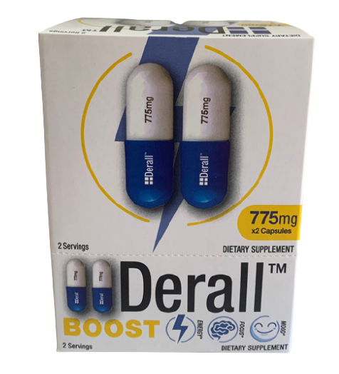 Derall BOOST 750mg 12ct Box