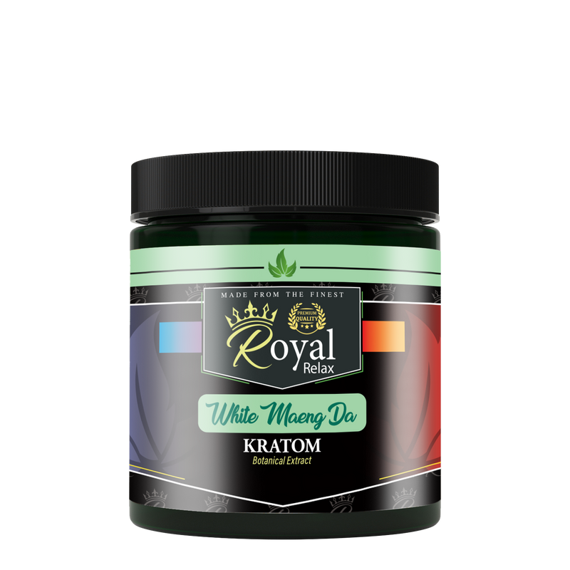 Royal Relax White Maeng Da Kratom