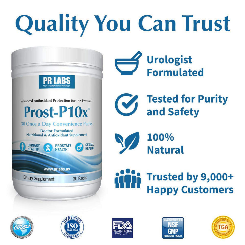 Prost-P10x Quality You Can Trust