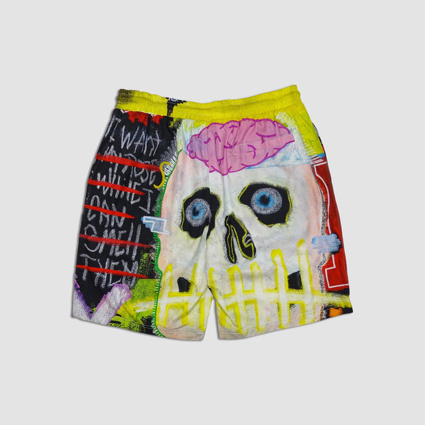 Wearable Art Tango Hotel I Want My Roses Shorts