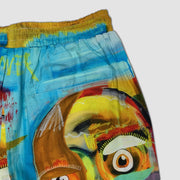 Wearable Art Tango Hotel Self Portrait Short