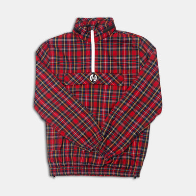 Rari Plaid ½ Zip Jacket