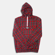 Rari Plaid ½ Zip Jacket Hood