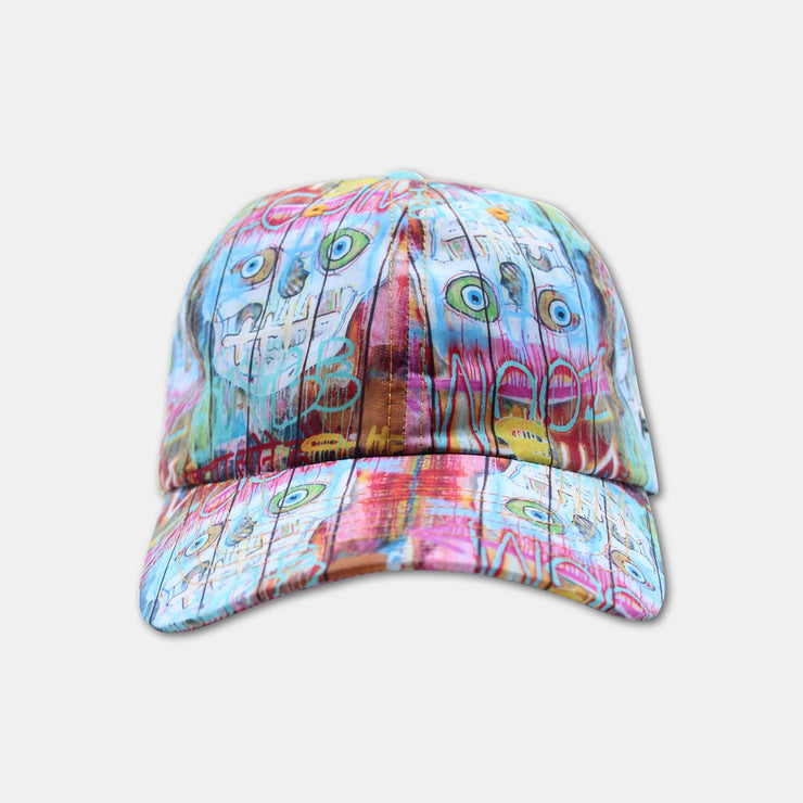 Canvas to Reality Wearable Art Skull Fence Hat