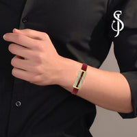 Dashing Urbane Mens Bracelet by Silventic Jewels