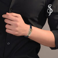 Designer Urbane Mens Bracelet by Silventic Jewels