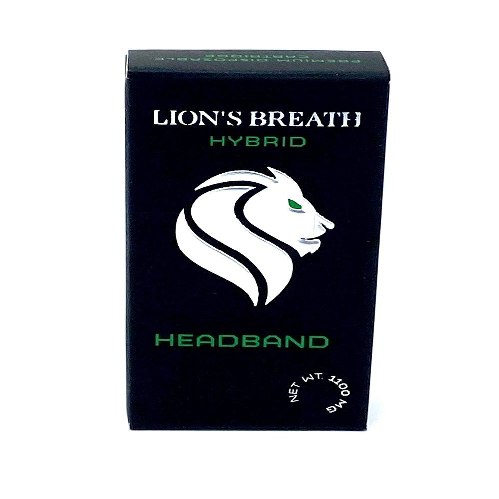 Lion's Breath 1.1 g Headband (Hybrid) Vape Cart