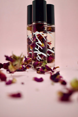 """Glory To Rose"" Lip Oil - LX DOLLS COSMETICS"