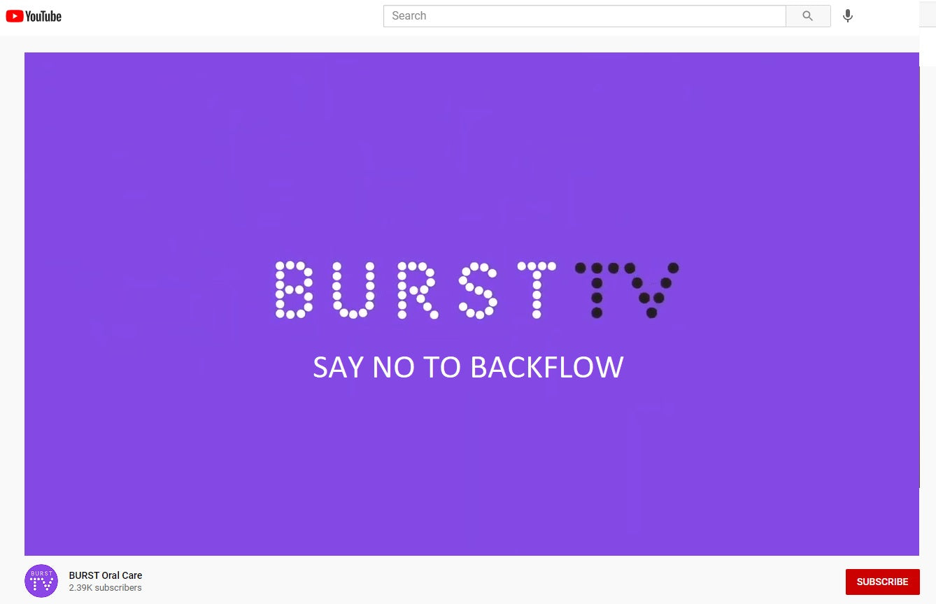 Interview with BURST TV - Say No To Backflow