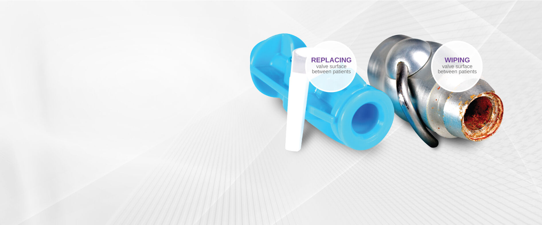 PROTECT PATIENTS WITH DOVE DISPOSABLE VALVES