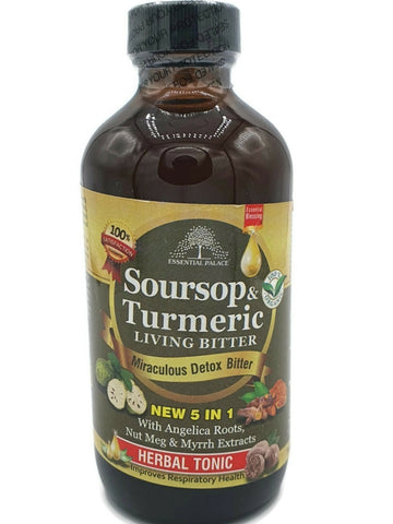 Soursop & Turmeric Living Bitters 8oz