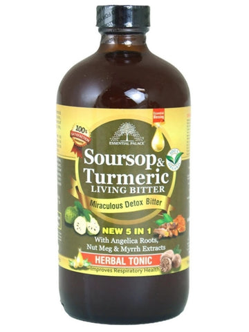 Soursop & Turmeric Living Bitters 16oz