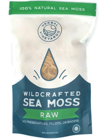 Wild Crafted  Sea Moss Raw 4oz
