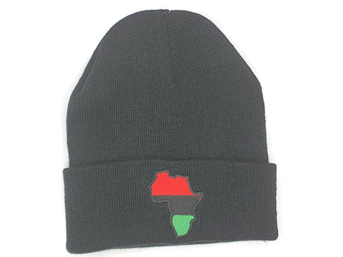 Hat Red Black Green W. Africa