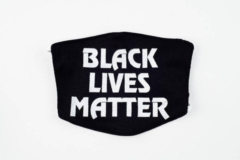 Black lives face mask