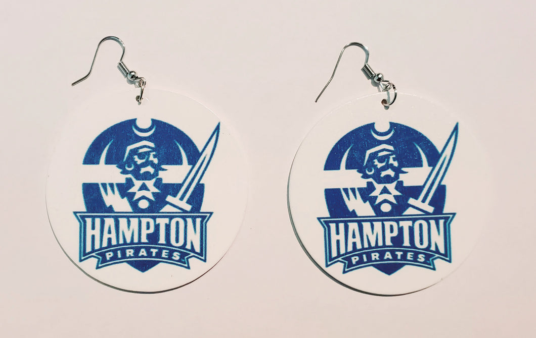 Hampton University Earrings