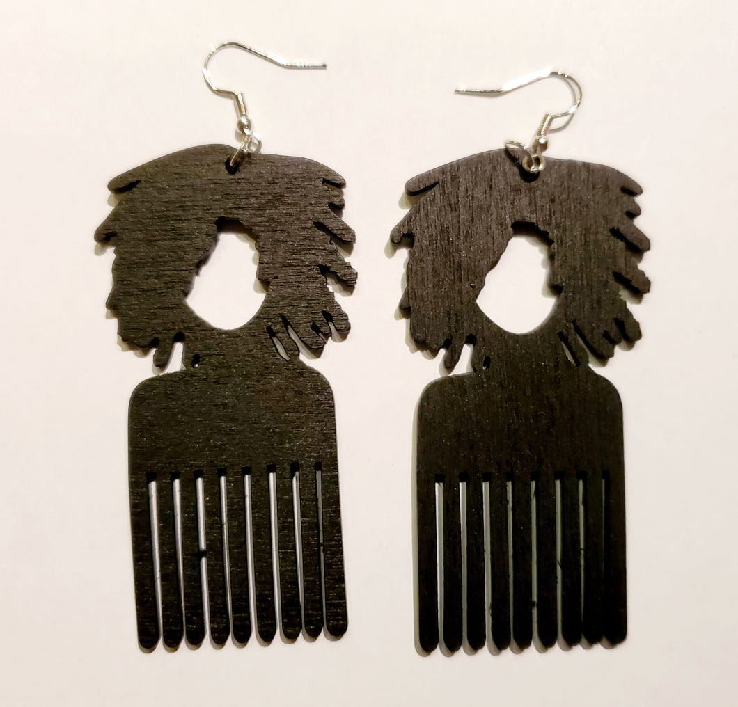 Loc and Pick Earrings