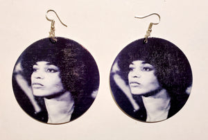 Angela Davis Earrings