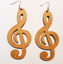 Load image into Gallery viewer, Treble Clef Earrings