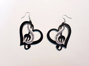 Music Love Earrings
