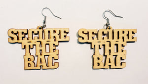 Secure the Bag Earrings