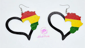 HEART Africa Earrings